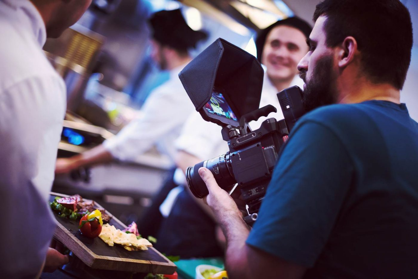 commercial videography team shoots video in Rochester